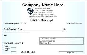 Money Receipt Template Microsoft Word Free 2 Of Tailoredswift Co