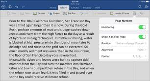 How To Make It Mla Format On Word How To Lay Out A Word Document On The Ipad Dummies