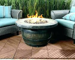 gas fire bowls outdoor pit bowl propane coffee stone canadian tire fi