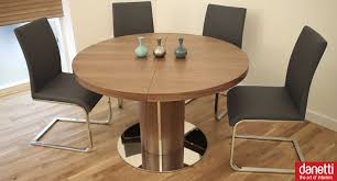 chair extending round dining table and chairs bright