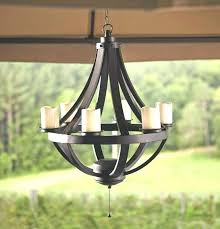 outdoor candle chandelier non electric pendant lights outdoor