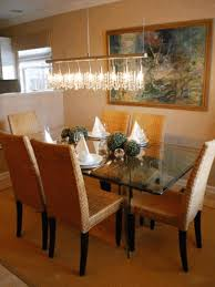 White Dining Room Furniture Rustic Dining Room White Ornamental Flowers Modern Glass Dining
