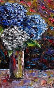 fl art flowers painting hydrangeas paintings fine art by debra hurd