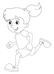 Gingerbread Boy Coloring Pages Gingerbread Boy Coloring Page