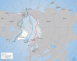 Polar Routes Charts Arctic Sea Shipping Emissions Matter More Than You Might