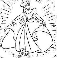 Cinderella Coloring Book Pages 22 Free Disney Printables For Kids