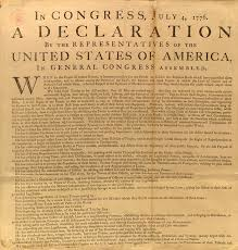 american revolution and founding era all men are created equal its eloquent declaration of equality and human rights the declaration of independence is one of the most influential and moving documents in western