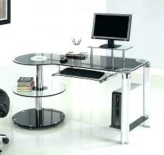 Image Black Brown White Acrylic Desk Acrylic Desk Acrylic Desk Large Corner Desk Office Desk White With Office Desks Magicharrysite White Acrylic Desk Magicharrysite