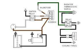 electric cooling fan schematics notes