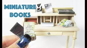 how to make miniature furniture. How To Make Miniature Books Furniture