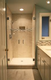 glass door tile shower cabin - Google Search. Small Shower RemodelBath ...
