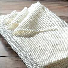 plush non slip rug pad white soundproof best soundproofing carpet padding