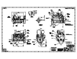 cummins engine drawings seaboard marine cummins 6bta tier 2 hi mount