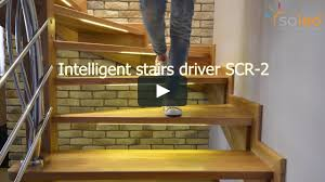 automatic led stair lighting. stair light controller modern led stairs design lighting system automatic pl production on vimeo led