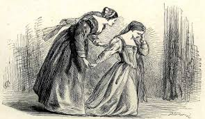 shakespeare s saddest song finding shakespeare illustration of a distraught desdemona being comforted by her maid emilia