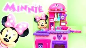 mouse kitchen set flipping a intended for remarkable your house idea kitchenette sets minnie toys r