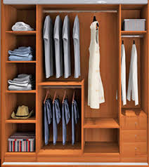 Closet Wardrobe Bedroom Wood Furniture