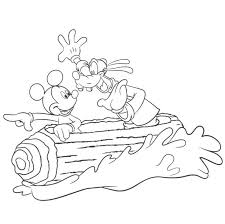 Select one of 1000 printable coloring pages of the category disney. Disney World Splash Mountain Coloring Pages