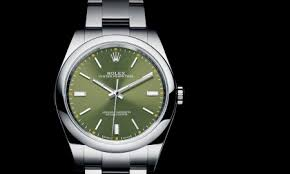 rolex mens watches men and women s designer watches highlights of rolex oyster perpetual 39 ref 114300 olive green at baselworld 2016