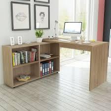 desks for office at home. Corner-Desk-4-Shelves-Computer-Office-Home-Study- Desks For Office At Home