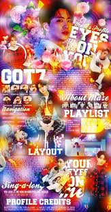 mal profile layouts got7 eyes on you march 2018 mal layout by breakyourvibes on deviantart