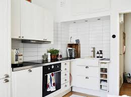 Corner Kitchen Designs White Corner Small Apartment Kitchen Design My Interior Design