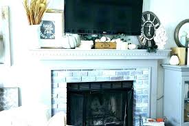shelf above fireplace mantels with mantel decor decorate
