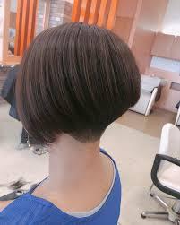 浜松にヘルプに行きました 素敵女子がテーマで刈り上げからの前下がり
