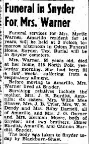 Myrtle Burditt - Newspapers.com