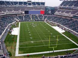 Lincoln Financial Field View From Upper Level 234 Vivid Seats