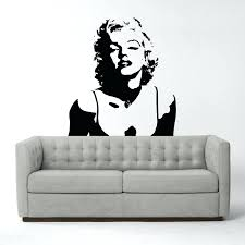 wall decals marilyn monroe ambiance sticker touch of modern wall decals .