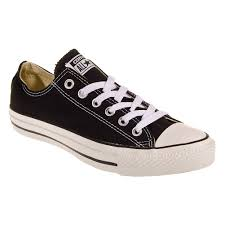 converse all star black. converse all star ox shoes (black) black