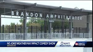 Brandon Amphitheatre Seating Chart Weather Threatens Comedy Show At Brandon Amphitheater