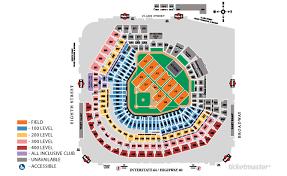 Gcs Ballpark Seating Chart Busch Stadium Seating Chart Busch Stadium St Louis