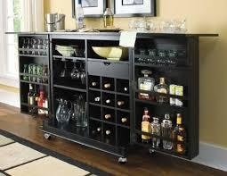 camden dark flip top bar wine cabinet in black finish bar trunk furniture