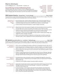 Technical Writer Functional Resume Sample Resume Examples