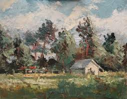 yesterday was painting day plein air oil jan