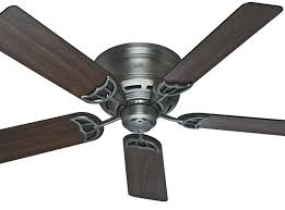 gallery of hunter maribel ceiling fan 52 new bronze outdoor rated inspire low profile fans regarding 13