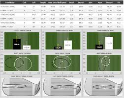Golf Iron Degree Chart Tested 2017 Cobra One Length Irons