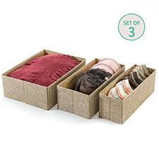 Decorative Storage Boxes With Drawers Amazon Drawer Storage Bins Set of 60 Decorative Closet 22