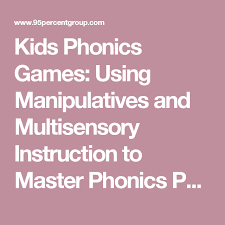 Phonics Patterns Magnificent Kids Phonics Games Using Manipulatives And Multisensory Instruction