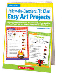 How To Create A Flip Chart Follow The Directions Flip Chart Easy Art Projects 12