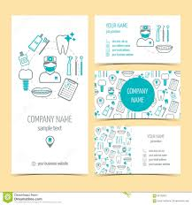dental clinic flyer template or brochure stock photo image set of flyer brochure and business cards for dental clinic dental care set