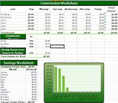 Kids Commission Chart Teaching Kids Financial Responsibility This Spreadsheet