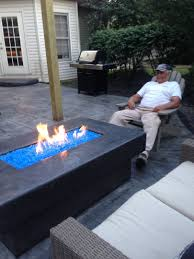new how to make fire glass fire pit custom made fire pits