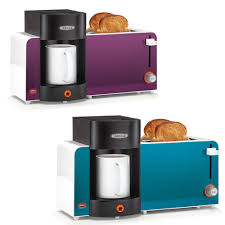 Kitchen Appliance Combos Coffee Maker Toaster Usb Charger Combo Breakfast Station Brew