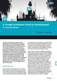 Literature review foreign direct investment   Incomestalk gq
