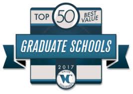 Top 50 Best Value Graduate School Rankings