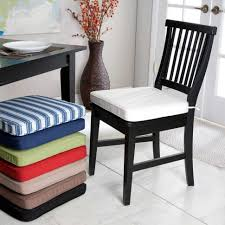 chair kitchen seat pads cushions padded for argos chairs black w large size