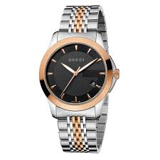 gucci watches for men beaverbrooks the jewellers gucci g timeless two colour men s watch